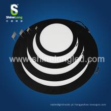 O teto comercial da iluminação do diodo emissor de luz recessed o painel redondo do diodo emissor de luz 12W
