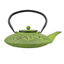 bule tradicional chinesa de ferro fundido