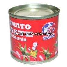 Chino pasta de tomate fresco en salsa