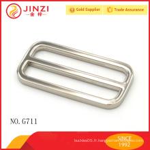 Boucle de ceinture réglable 50mm Jinzi