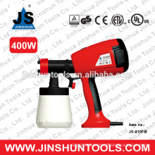 JS Electric Paint Sprayer HVLP Paint Stain 3 Pattern Spray Gun, 400W JS-910FB