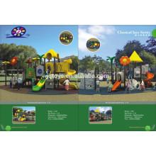 11101 Großer im Freienplastikspielplatz Vergnügungspark-Spielzeug