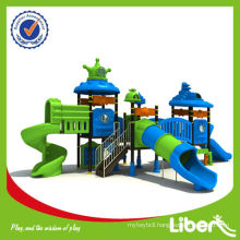 2015 New High Quality Plastic Children Amusement Park Equipment with Tube Slide
