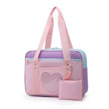 Travel Bag Jk Uniform Casual One Shoulder Luggage Bag