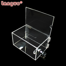 Custom Acrylic Transparent Display Box With Lock