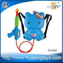 2014 vente chaude en plastique jouets d'été sac à dos pistolet à eau gros pistolet à eau pour vente en gros H133609