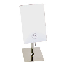 Hotel Bathroom Smart Square Wall Magnifying Bathroom Mirror