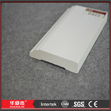 White Vinyl Wall Drip Cap Plastic Wall Line