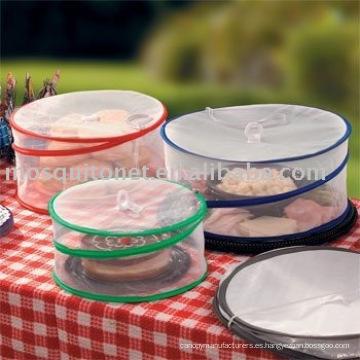 Cubierta redonda de alimentos