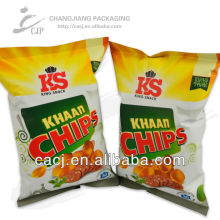 Appealing printing food packaging plastic bag/food plastic bag for chips automatic packaging