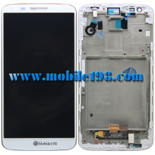 LCD Screen and Digitizer with Front Housing for LG G2 D802