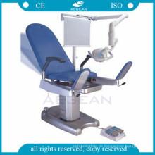 AG-S101 CE genehmigt chirurgische elektrische Geburt Arbeit und Lieferung elektrische Prüfung medizinischen Stuhl