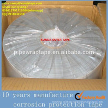 similar to polyken 980 tape XUNDA T200 outer tape for underground pipe