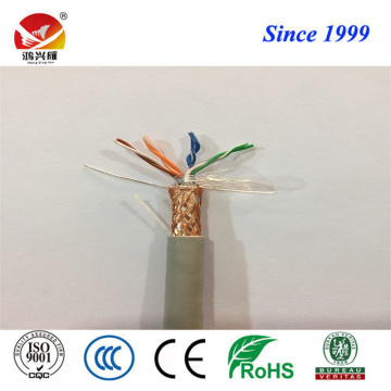 Conductor Twisted dan PE Insulation SFTP Cat5e Cable