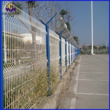 New Fashion Design for China Triangle 3D Fence, Triangle Bending Fence, Wire Mesh Fence, 3D Fence, Gardon Fence Manufacturer Curved Top Garden Fence Panels supply to Micronesia Importers