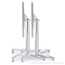 Folding Stacking Square Stainless Steel Outdoor Bistro Table (SP- MT020)