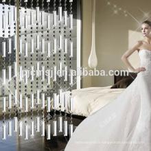 nouveau style à la maison Decor cristal perlé rideau pour le diviseur de pièce