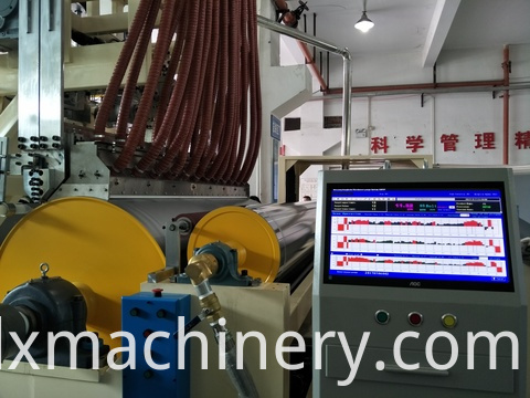 colored stretch film making machine