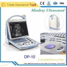 Máquina de ultrasonido portable portátil Mindray con certificados CE & FDA DP-10