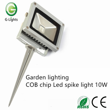 Illuminazione da giardino Chip di COB Led spike light 10W
