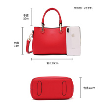 Trendy Red Tote Sling Body Bag für Frauen