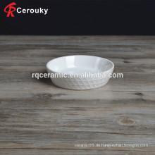 Geprägte Reis-Getreide-Schüssel Keramik-Schüssel