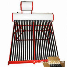 Non-pressurized galvanized steel solar water heater with solar vacuum tubes type, anti-raining