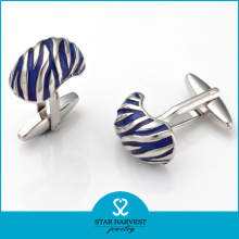 Promotion Unique Shape Silver Fashion Cufflink (SH-BC0020)