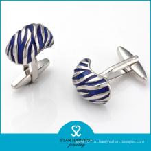 Поощрение Уникальная форма Серебряная мода Cufflink (SH-BC0020)