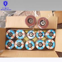Disque à lamelles d'oxyde d'aluminium de 4,5 po, disque à lamelles abrasives, disque à lamelles de polissage