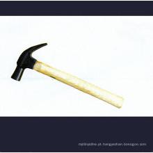 Martelo de garra tipo britânico com alças de madeira
