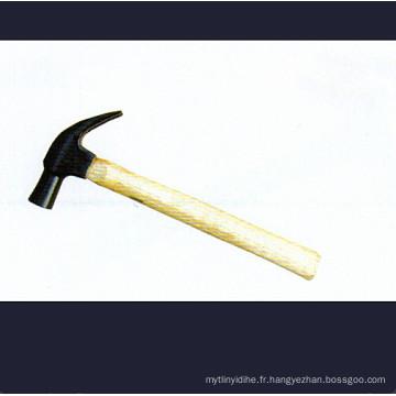 British-Claw Type Marteau avec poignées en bois