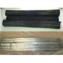 Verzinkt oder schwarz geglüht Schnitt / U-Typ Draht
