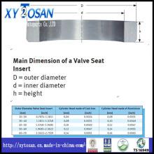 Assento da válvula do motor para Hino / Komatsu / Yanmar / Scania / Benz / Toyota