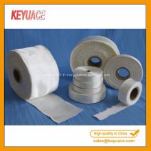 Ignifugation haute bande de fibre de silice