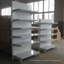 Buen precio hermosa góndola Supermarket Rack / Store Shelf en venta