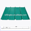 Panel de techo de acero inoxidable laminado en frío galvalume / PPGL de acero laminado en frío