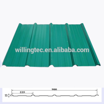 Cheap cold rolled pre-panited galvalume /PPGL steel heat insulation roof panel