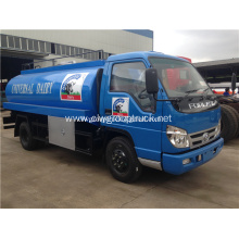 Mobile tanker truck milk cooling tank for sale