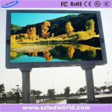 Affichage à plein écran d'écran de Fullcolor LED de 1/4 de pouce P8 pour la publicité