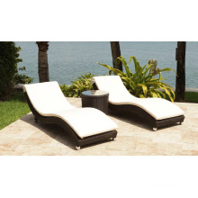 Garden Wicker Patio Sunlounger Poolside Outdoor Rattab Furniture