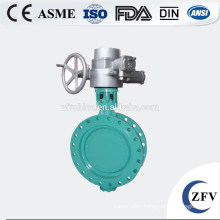 Factory Price Electric Actuator Butterfly Valve, Triple Offset Butterfly Valve