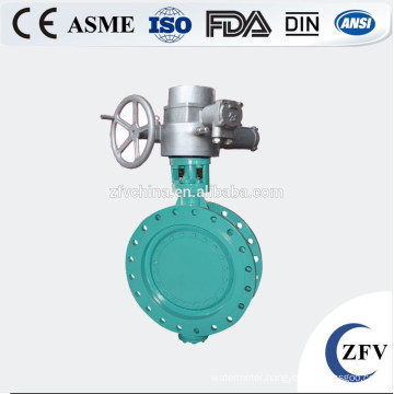 Factory Price Electric Actuator Triple Eccentric Butterfly Valve