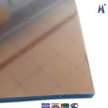 Tee-Spiegel-Gebäude-Fassade Composite-Wand-Material