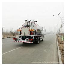 Distribuidor automático de asfalto aspersor de emulsión de betún