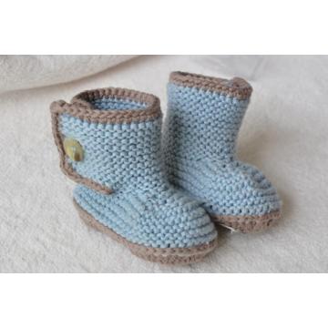 Оптом Вязаные кроссовки на носках