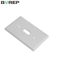YGC-011 American plate GFCI electric plastic wall switch panel