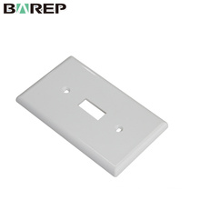 YGC-011 Plastic electrical switches good price wall plate with OEM