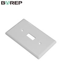 YGC-011 placa americana GFCI painel de interruptor de parede de plástico elétrico
