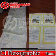 Non Сплетенный рулон ткани для того чтобы Свернуть печатную машину